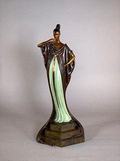 """Erte Bronze, """"An Evening in 1922"""""""