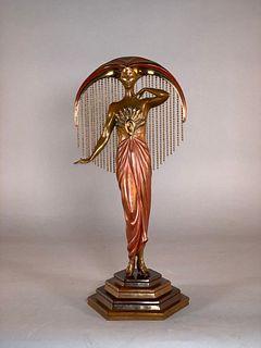 "Erte Bronze ""Le Soleil"""