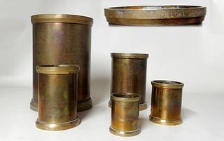 Marked Fairbanks Brass Measures