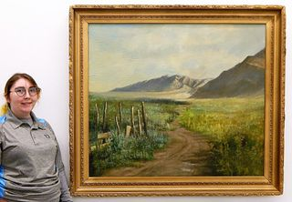 H. Alten E. F. Impressionist Landscape Painting
