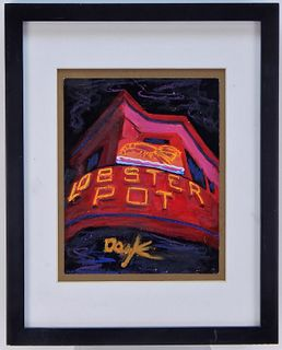 Kevin Doyle Lobster Pot Provincetown Painting