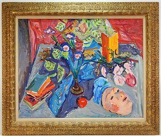 Emile Sabouraud Modernist Still Life Painting