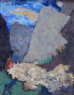 Robinson Murray Taormina Italy Abstract Painting