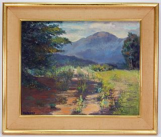Alice Holcomb Impressionist Massachusetts Painting