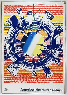 James Rosenquist America The Third Century Poster