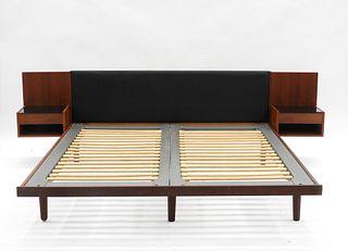 Hans Wegner Getama Danish Modern King Size Bed