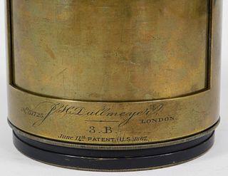 J. H. Dallmeyer London 3B Lens