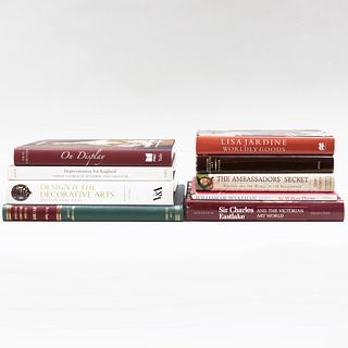 Collection of Miscellaneous Books on British Art and Design