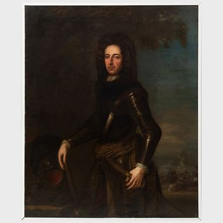 European School: Portrait of William III of Orange, King of England