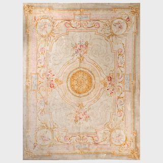 French Aubusson Style Carpet