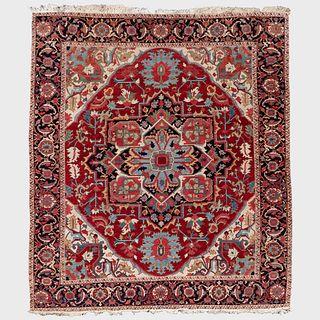 Fine Persian Heriz Carpet