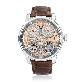 Arnold & Son Tourbillon Chronometer No. 36 in Steel