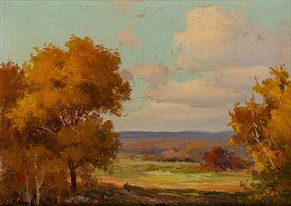 Porfirio Salinas (1910–1973): Autumn in Texas