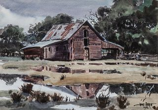 James Boren (1921–1990): After the Rain (1982)