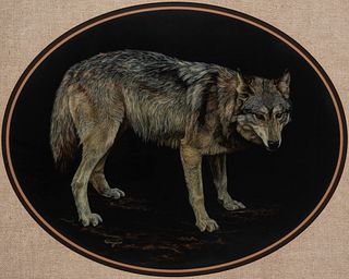 Wilma Tronstad (b. 1948): Standing Wolf
