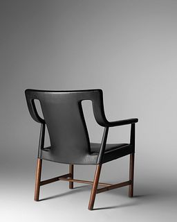 Ejner Larsen and Aksel Bender Madsen (Danish, 1917-1987 | Danish, 1916-2000) Lounge Chair, model LP48, c. 1955,Ludvig Pontoppidan, Denmark