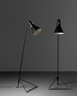 Asea Sweden, Mid 20th Century Pair of Floor Lamps