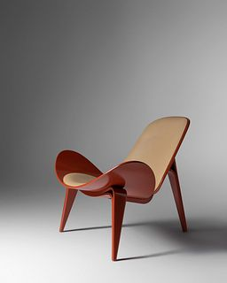 Hans J. Wegner (Danish, 1914-2007) CH07 Shell Lounge Chair,Carl Hansen & Son, Denmark