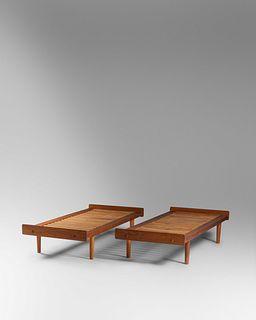 Ejvind Johansson (Danish, b. 1923) Pair of Daybeds, Model G19,FDB Mobler, Denmark