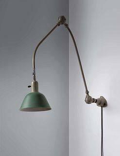 Johan Petter Johansson (Swedish, 1853-1943) Early Triplex Wall Lamp, c. 1930,Triplex Fabriken, Sweden