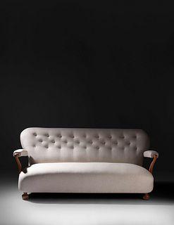 Josef Frank (Austrian-Swedish, 1885-1967) Sofa, Model 901,Svenskt-Tenn, Sweden
