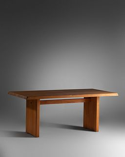 Pierre Chapo(French, 1927-1987)Special-Order Dining Table,model T14C c. 1980,Meubles Chapo, France