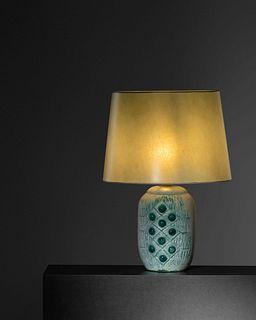 French Mid 20th Century Modernist Table Lamp