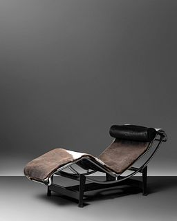 Charlotte Perriand, Pierre Jeanneret and Le Corbusier (French, 1903-1999 | Swiss, 1896-1967 | French-Swiss, 1887-1965) LC4 Adjustable Chaise Lounge,C