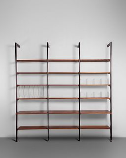 George Nelson and Associates  (American, 1908-1986) Three-Bay CSS Wall Unit,Herman Miller, USA