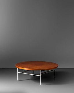 George Nelson and Associates  (American, 1908-1986) Coffee Table, model 5756, c. 1956,Herman Miller, USA
