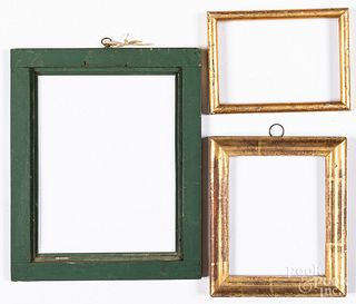 Three small frames