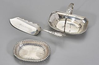 Three Sterling Silver Service Pieces