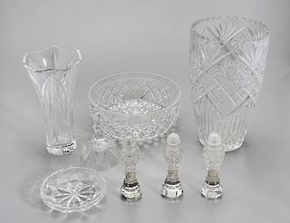 Group of Various Glassware Items