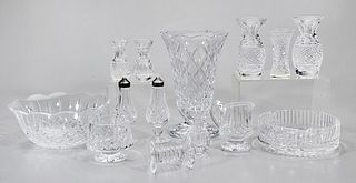 Group of Various Waterford Crystal Pieces