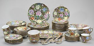 Large Set of Chinese Porcelain Dinnerware