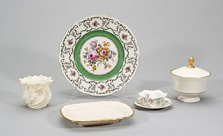 Group of Six Various European and American Porcelains