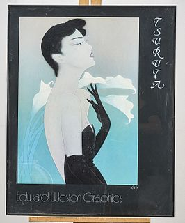 Edward Weston Graphics Poster