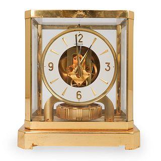 Jaeger LeCoultre Brass Clock