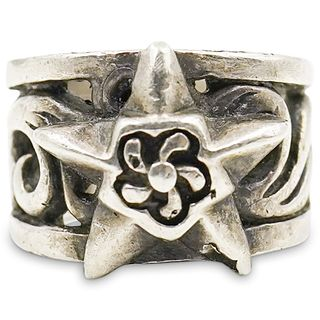 Vintage Chrome Hearts Sterling Silver Ring