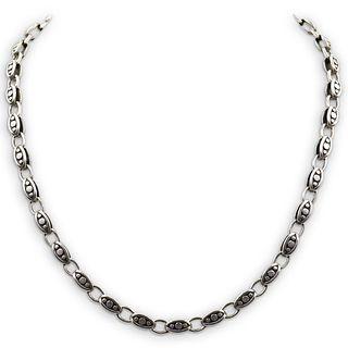 Modernist Sterling Silver Necklace