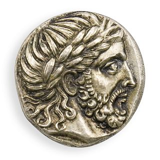 Ancient Greek Silver Tetradrachm (148 B.C)