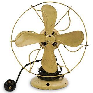 Antique Polar Cub Electric Table Fan