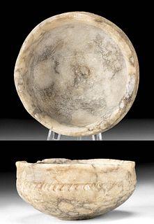 Romano-Egyptian Alabaster Dish