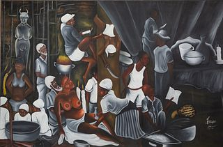 FRITZNEL (HAITIAN LATE 20TH CENTURY)