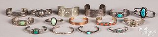 Group of Native American Indian jewelry