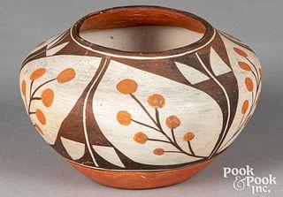 Acoma, Pueblo Indian pottery vessel
