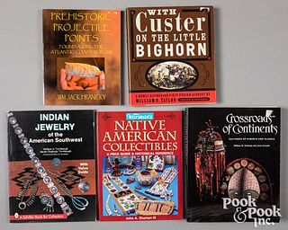 Native American Indian reference books
