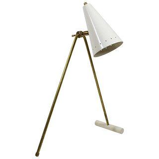 Italian Stilnovo Style Counterweight Table Lamp