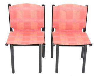 "Gianfranco Frattini for Cassina ""Caprile"" Chairs,6"