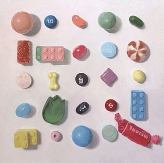 SOOJIN KIM, MFA 18 - Arranged Candies No 16